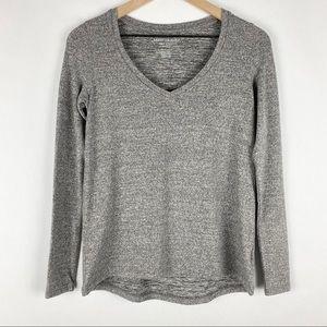 American Eagle V Neck Long Sleeve Plush Sweater XS